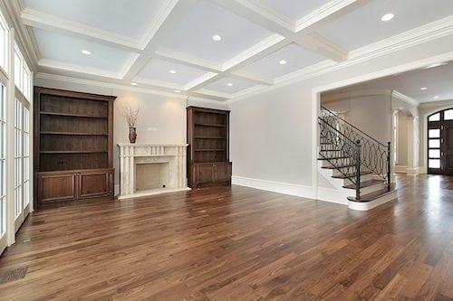 Hardwood floor installation abbott hill homes for Abbotts flooring